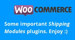 WooCommerce Shipping Modules