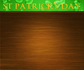 St Patricks Day Wood Background - PhotoDune Item for Sale