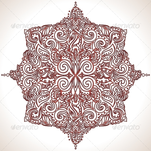 GraphicRiver Lace Pattern 6977079