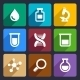 Chemical  Flat Icons Set 49 - GraphicRiver Item for Sale