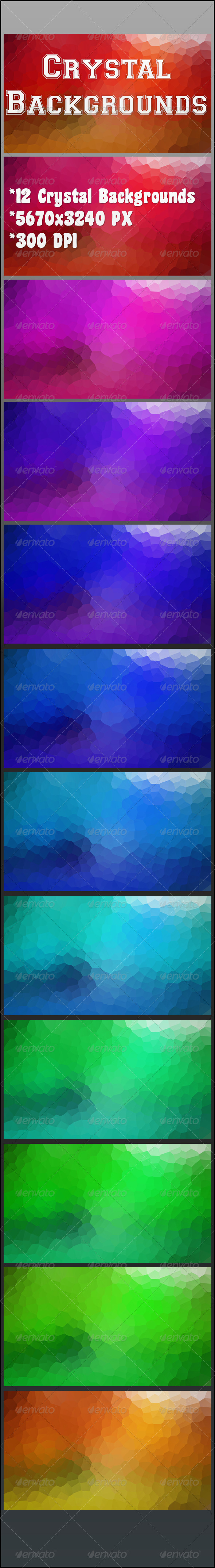 GraphicRiver Crystal Backgrounds 6973856