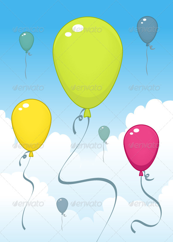 GraphicRiver Balloons 6979146