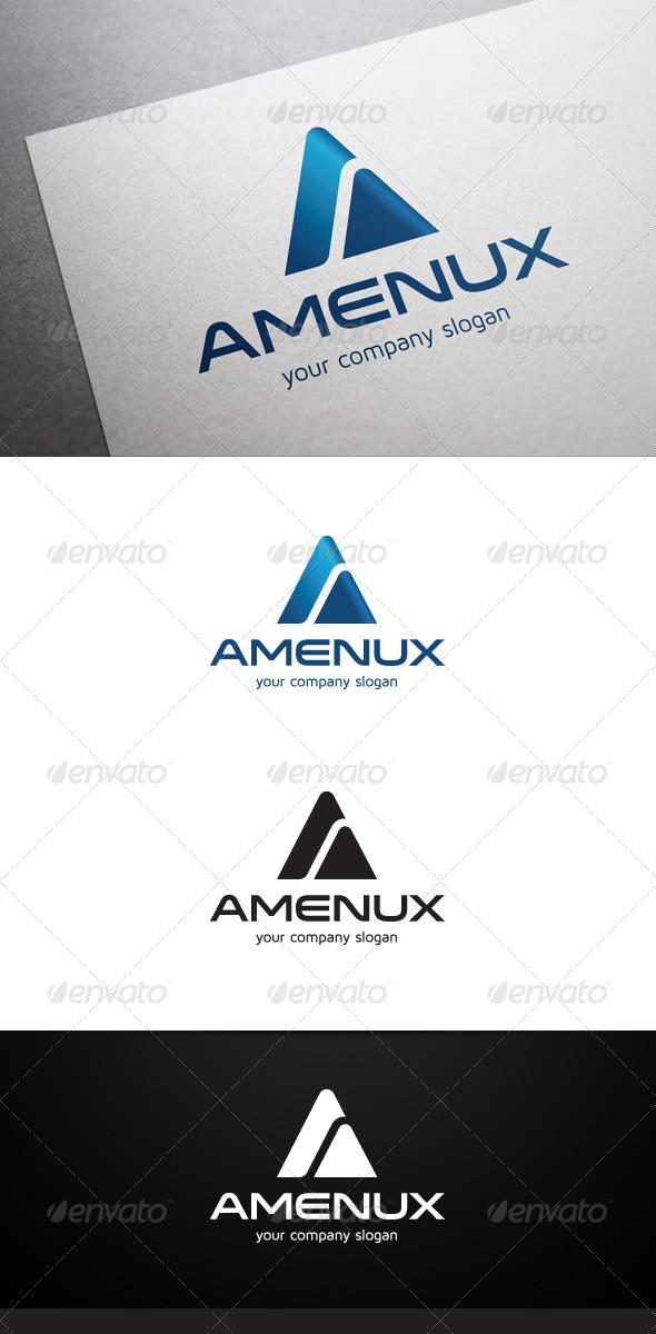GraphicRiver Amenux A Letter Logo 6979299