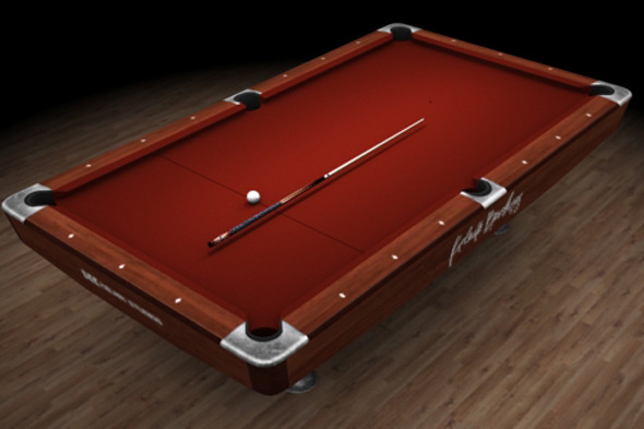 3DOcean Pool table 6980168