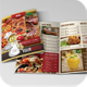 Bi-fold Restaurant Menu Template + Flyer - GraphicRiver Item for Sale