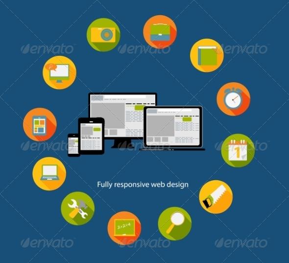 GraphicRiver Responsive Web Design Icon 6981790