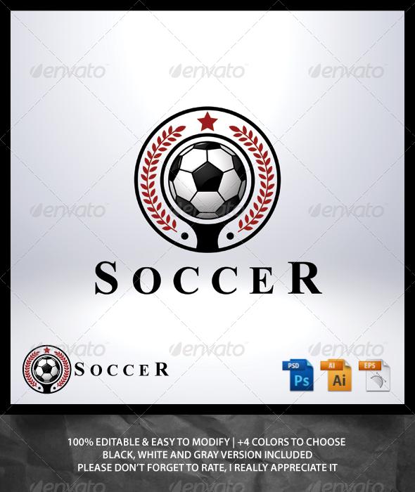 GraphicRiver Soccer Logo 6981905