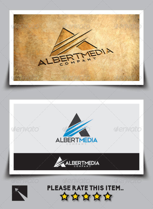 GraphicRiver Albert Media Letter A Logo Template 6984358