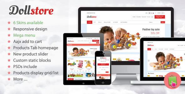 Doll Store Responsive Prestashop Theme - Miscellaneous PrestaShop