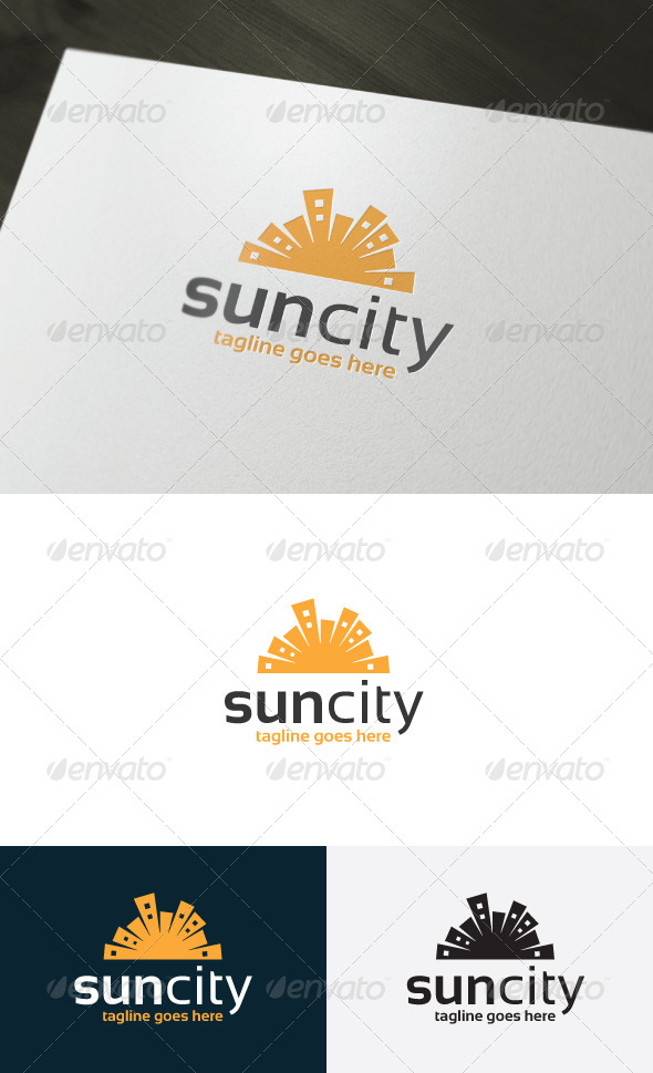 GraphicRiver Sun City Logo 6976111