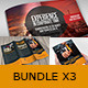 Bundle 3x Folders Pack - GraphicRiver Item for Sale