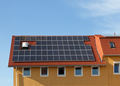 Solar panels on the roof - PhotoDune Item for Sale