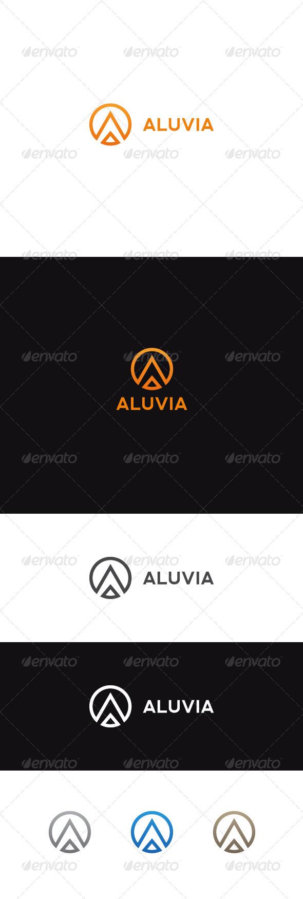 GraphicRiver A Letter Logo Aluvia 6988456