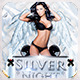 Silver Night-Elegant Party Flyer - GraphicRiver Item for Sale