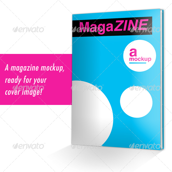 MagaZINE Mockup - Magazines Print