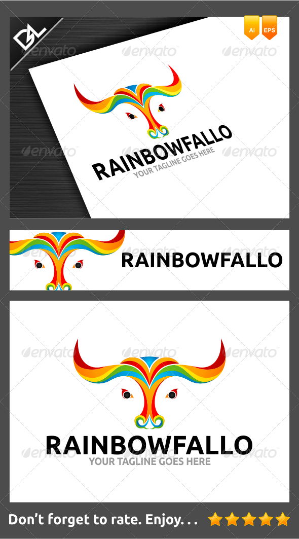GraphicRiver Rainbowfallo 6967528