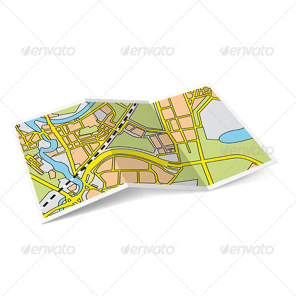 GraphicRiver Map Booklet 6989725
