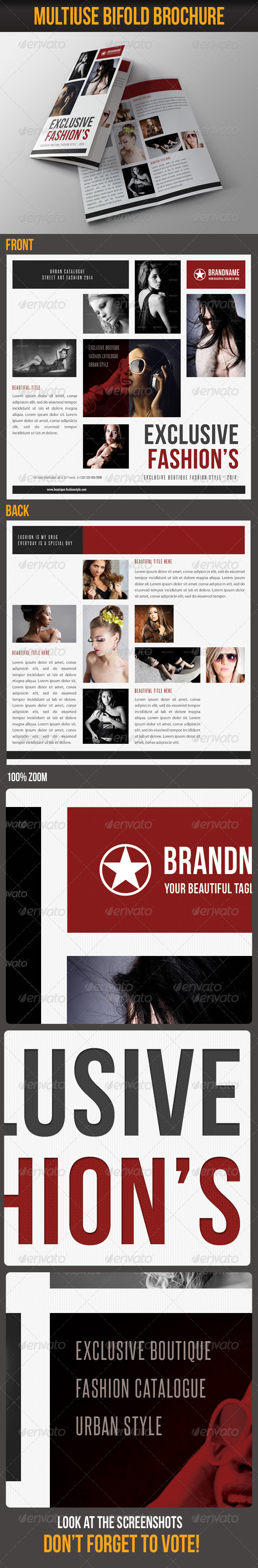 GraphicRiver Multiuse Bifold Brochure 52 6977188