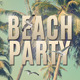 Vintage Beach Party Flyer - GraphicRiver Item for Sale