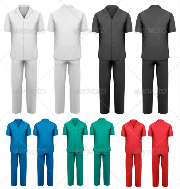 GraphicRiver Set of Medical and Doctor Clothes 6990849