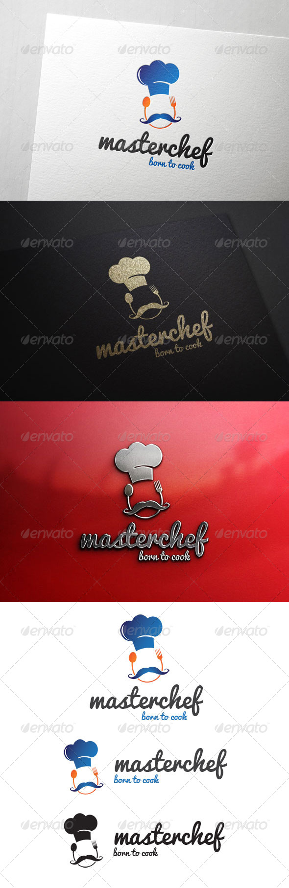 GraphicRiver Masterchef Logo 6991649