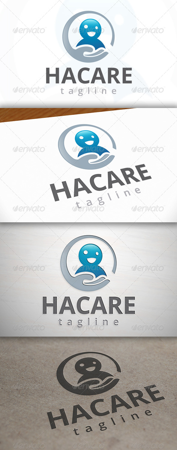 GraphicRiver Happy Care Logo 6992121