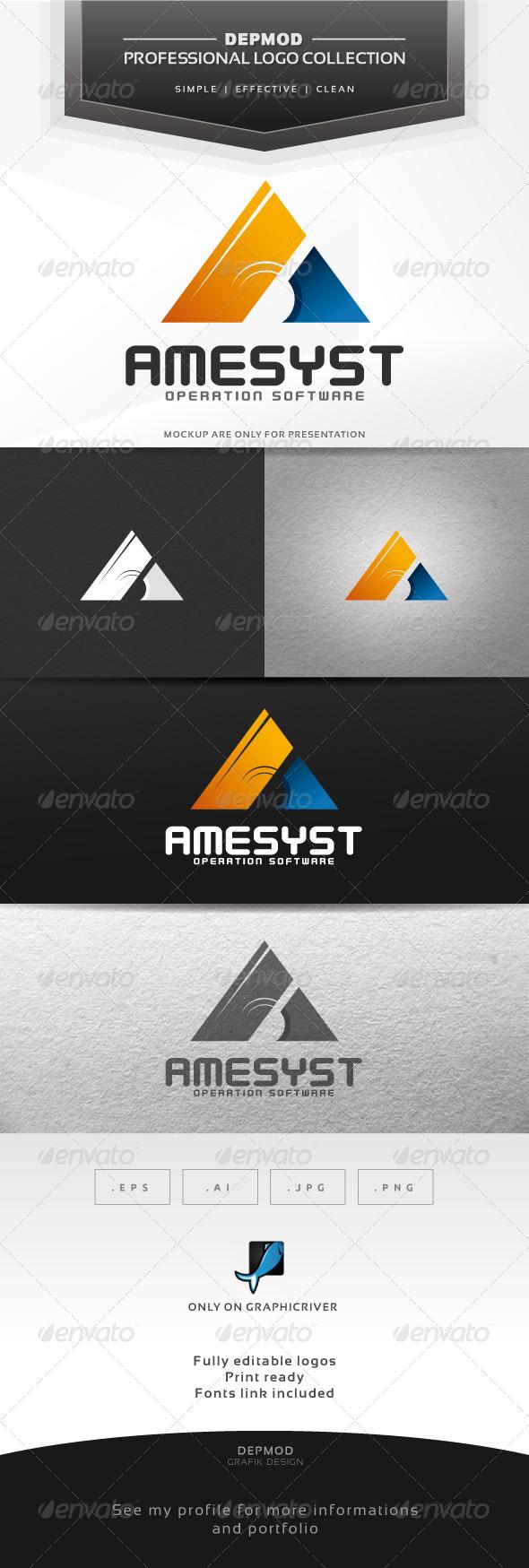 GraphicRiver Amesyst Logo 6992357