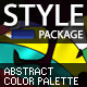 Abstract Color Palette Styles - GraphicRiver Item for Sale