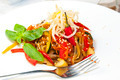 spaghetti with vegetables - PhotoDune Item for Sale