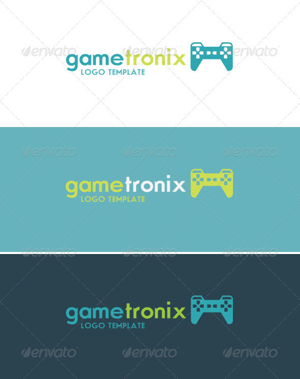 Gametronix Logo - Objects Logo Templates