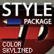 Color Skylined Styles - GraphicRiver Item for Sale