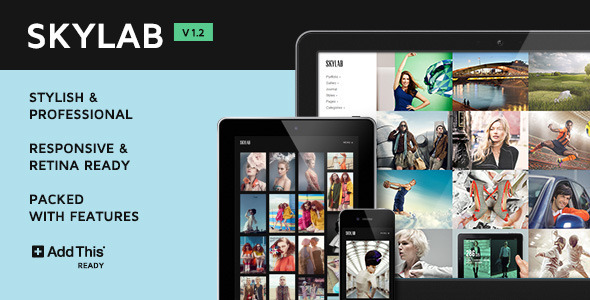 Skylab Portfolio / Photography WordPress Theme - Photography Creative