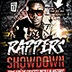 Rappers Showdown Flyer Template  - GraphicRiver Item for Sale