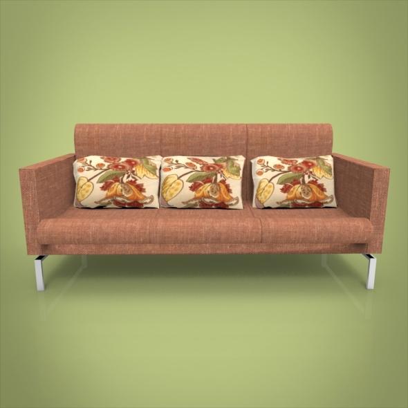 3DOcean Rustic Sofa 6995414
