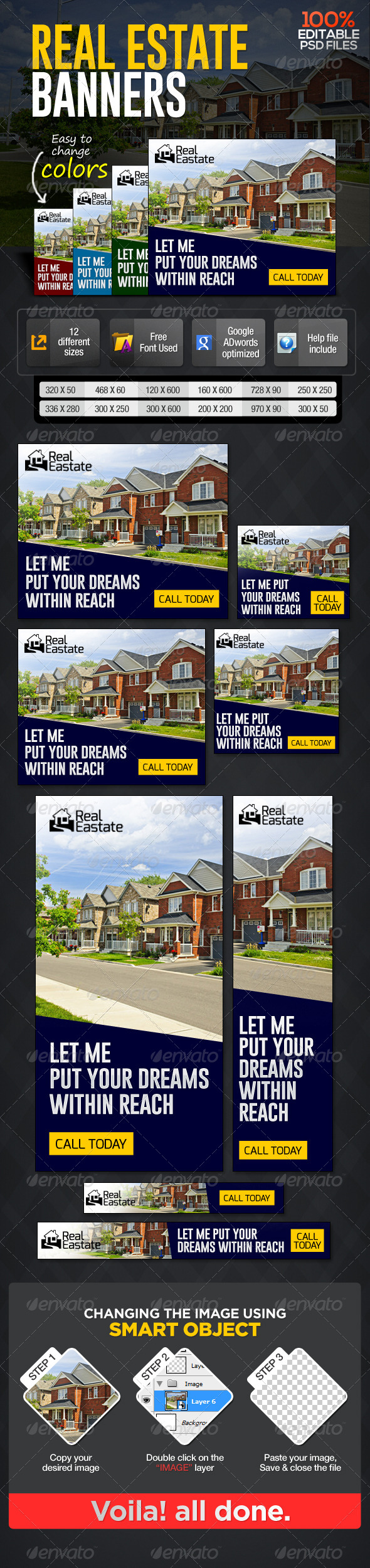 GraphicRiver Real Estate Banners 6996921