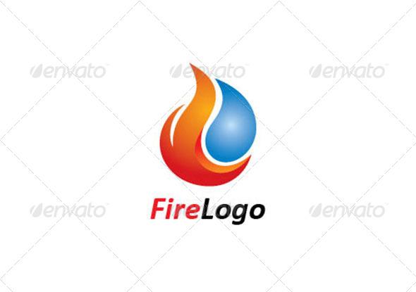GraphicRiver Fire Logo Template 6986251