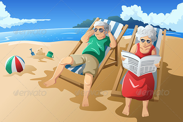 GraphicRiver Senior Couple Enjoying Their Retirement 6997546