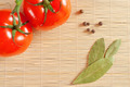 tomatoes and bay leaf - PhotoDune Item for Sale