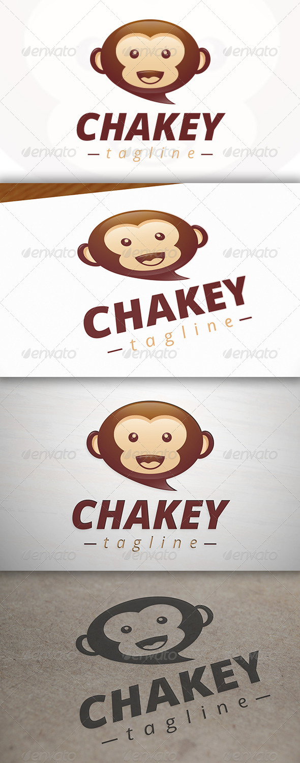 GraphicRiver Monkey Logo 7000230