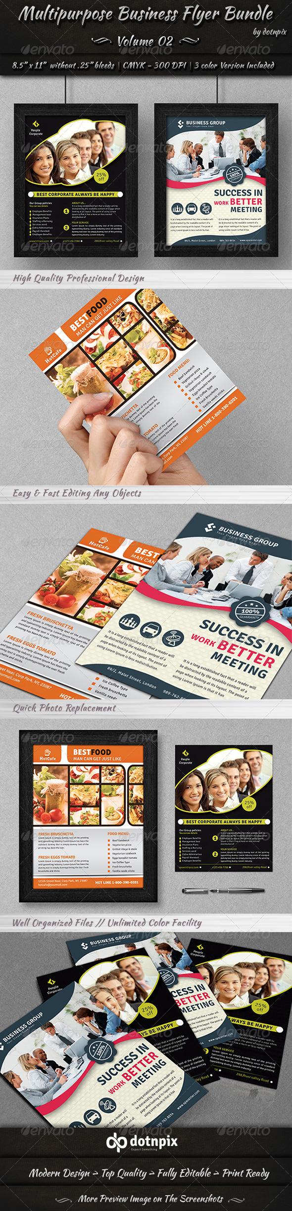 GraphicRiver Multipurpose Business Flyer Bundle Volume 2 7000573