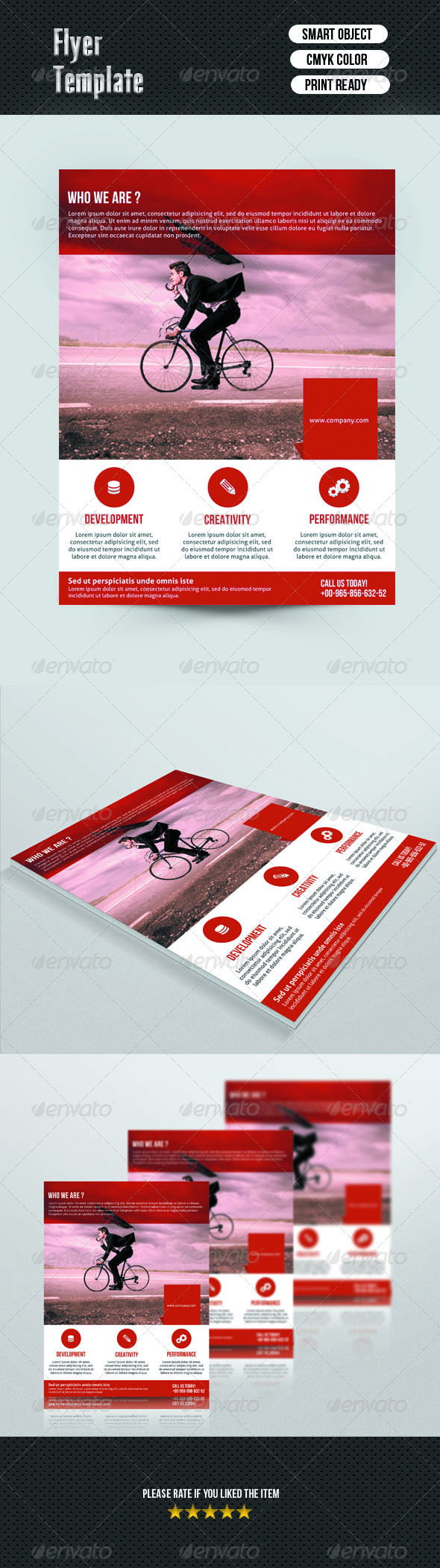 GraphicRiver Corporate Flyer 7000577