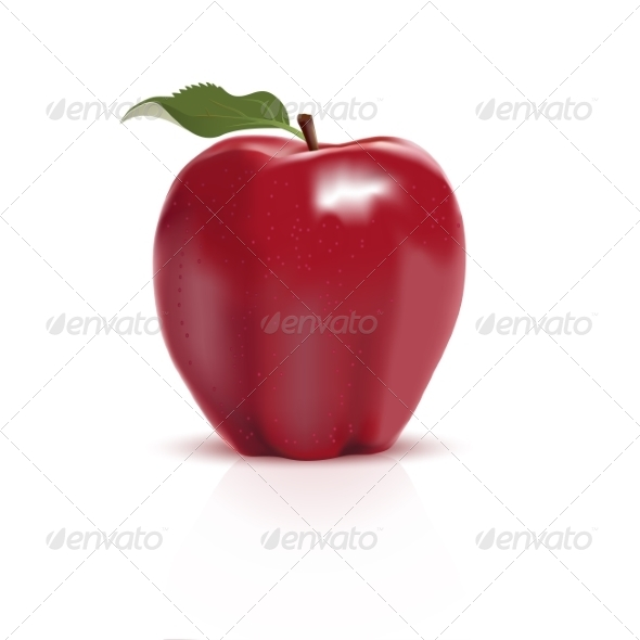 GraphicRiver Red Apple 7001020