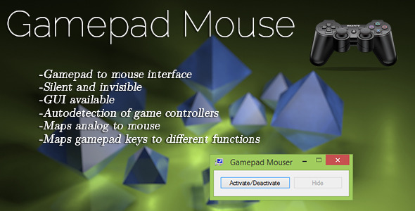 CodeCanyon Gamepad Mouse Mapper 7002620