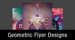 Geometric Flyer Templates