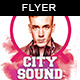 City Sound | Flyer Template - GraphicRiver Item for Sale