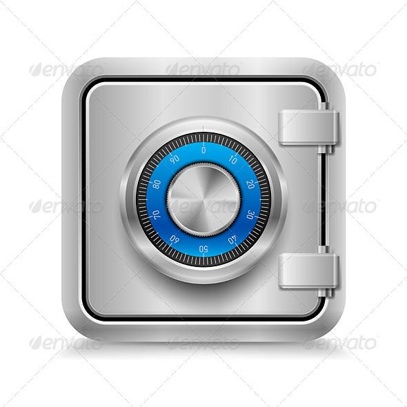 GraphicRiver Closed Safe 7004938