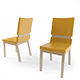 Realistic Chair Armchair - 3DOcean Item for Sale