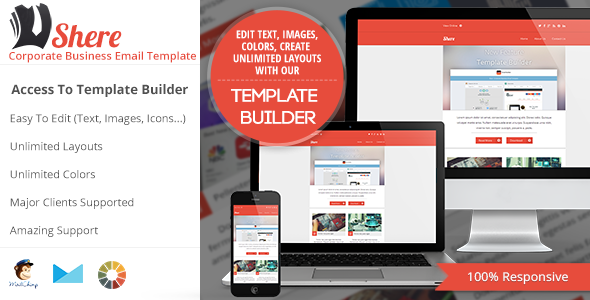 Shere - Corporate Email HTML Template  - Newsletters Email Templates