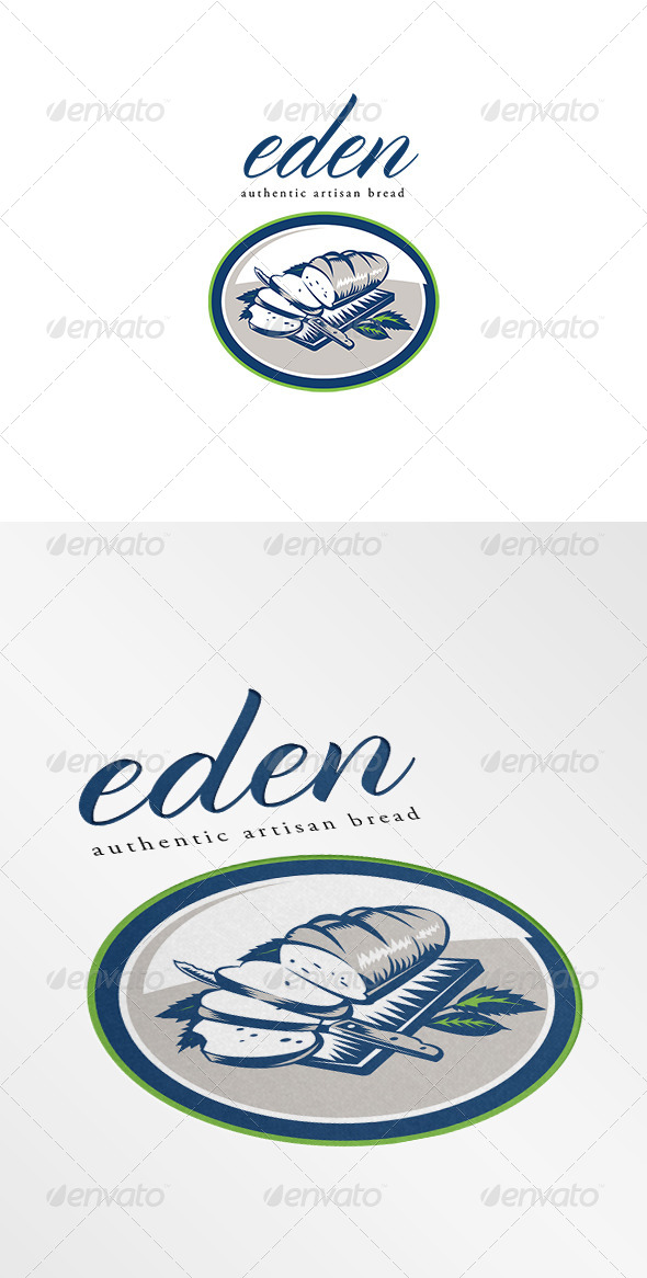 GraphicRiver Eden Authentic Artisan Bread Logo 7005895
