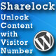 Sharelock: Unlock Content with Visitor Number (Miscellaneous) Download